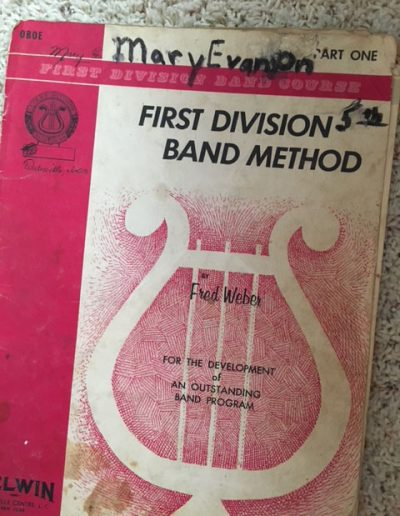 I joined band in fifth grade, played the oboe