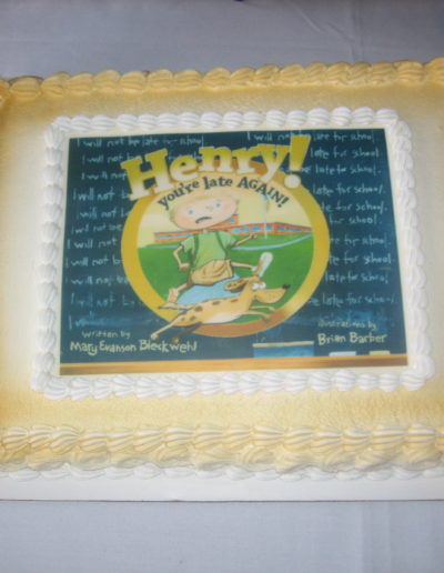 Bk launch HL cake